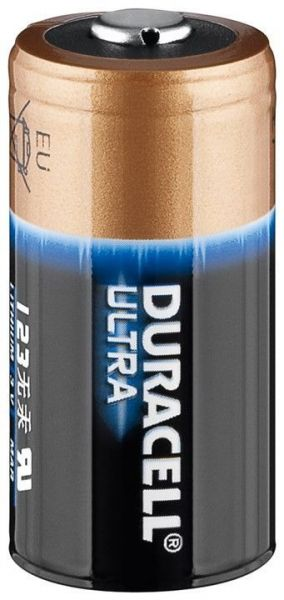 * Duracell Ultra Photo Batterie CR 123 A